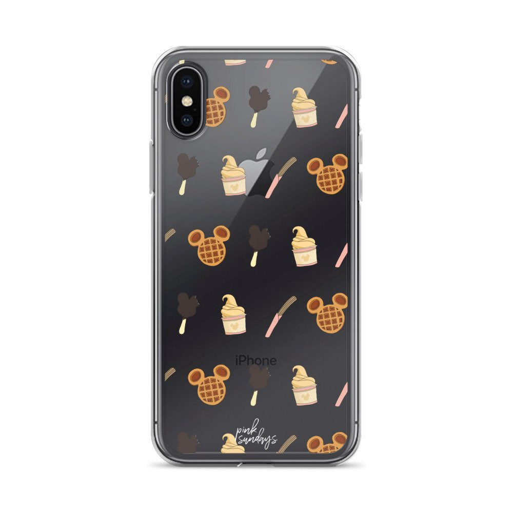 Disney Snacks Iphone Case - pinksundays