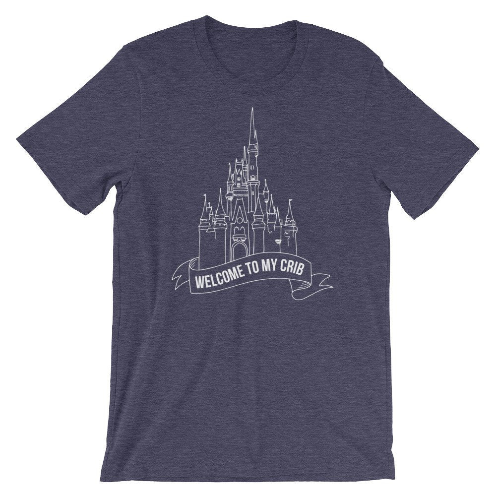 Welcome To My Crib Graphic Tee - pinksundays