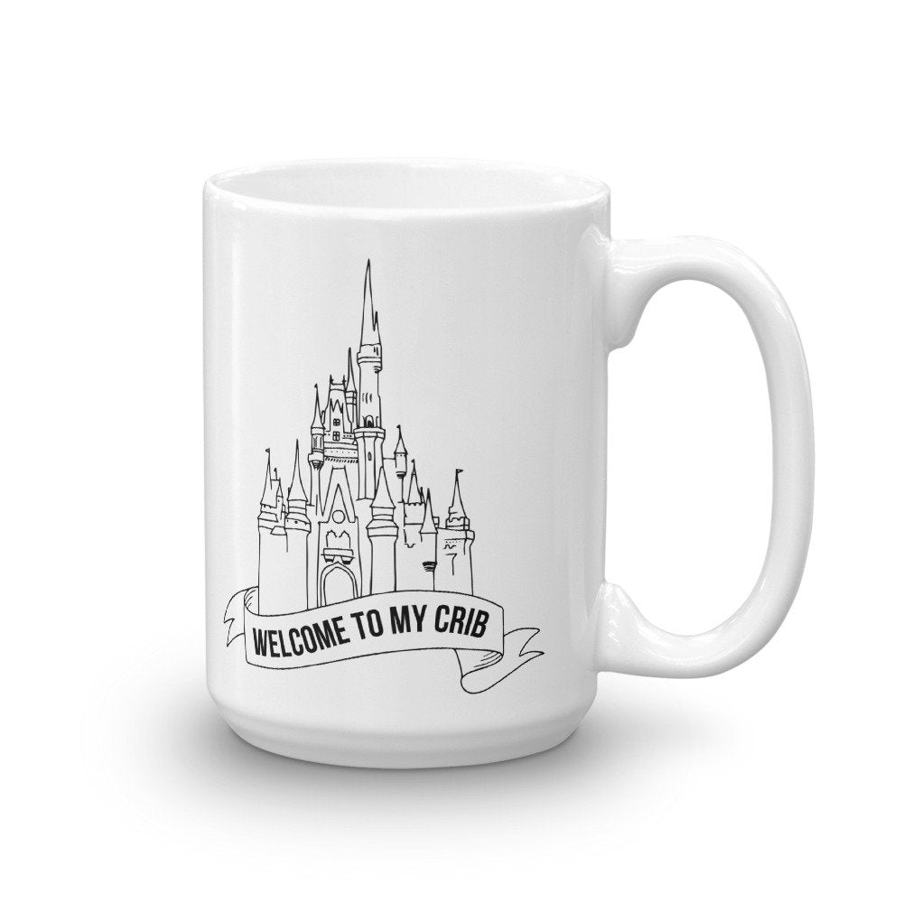 Welcome To My Crib Mug - pinksundays