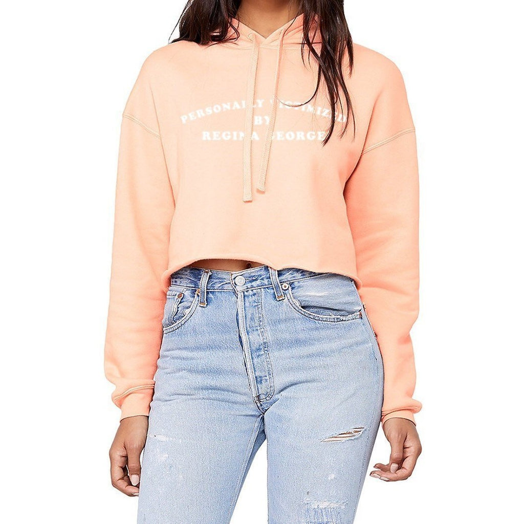 Personally Victimized By Regina George Cropped Hoodie - pinksundays