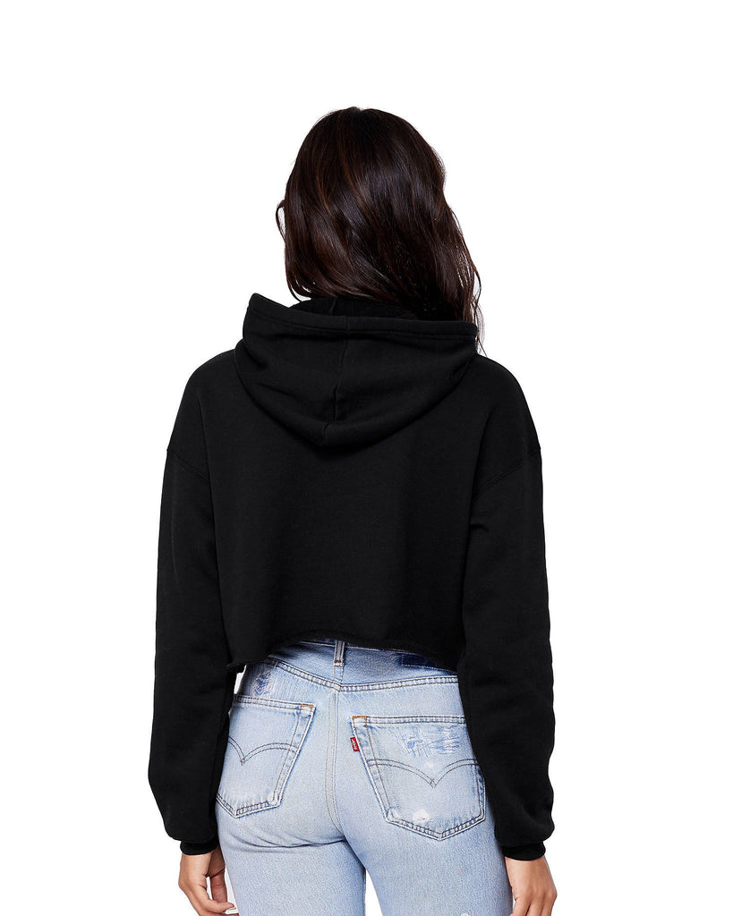 Ice Coffee Cropped Hoodie - pinksundays