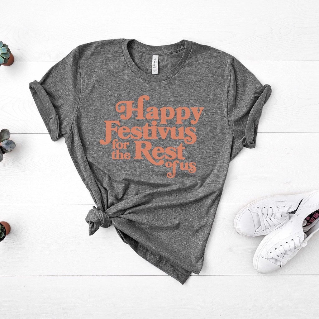 Happy Festivus For The Rest Of Us, Graphic Tee, festivus tshirt, holiday unisex shirt, holiday gift, stocking stuffer, funny tv show tshirt