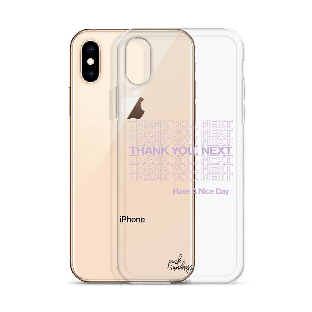 finest selection 0c7d9 2e3b2 Thank You Next Iphone Case