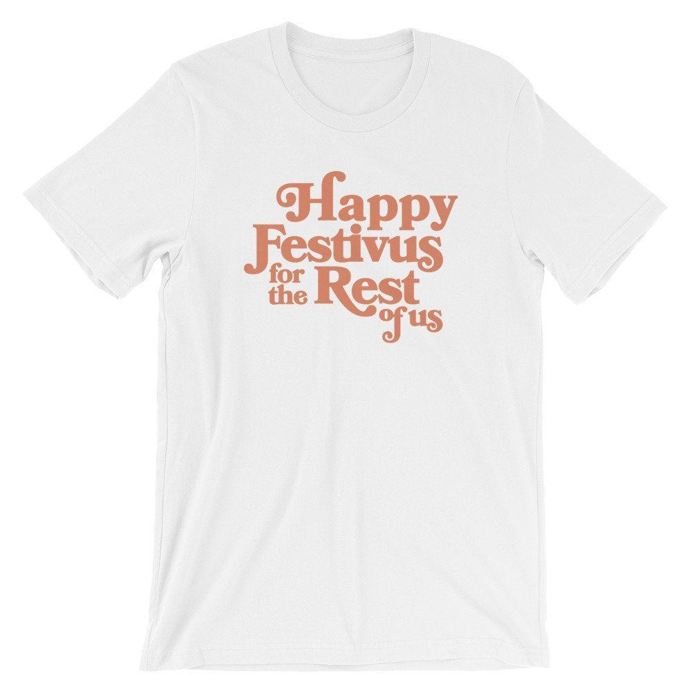 Happy Festivus Graphic Tee - pinksundays