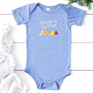 Blessed Be The Fruit Baby Bodysuit, handmaids tale baby, baby onesie, blessed be the fruit, baby going home outfit, funny baby gift, unisex