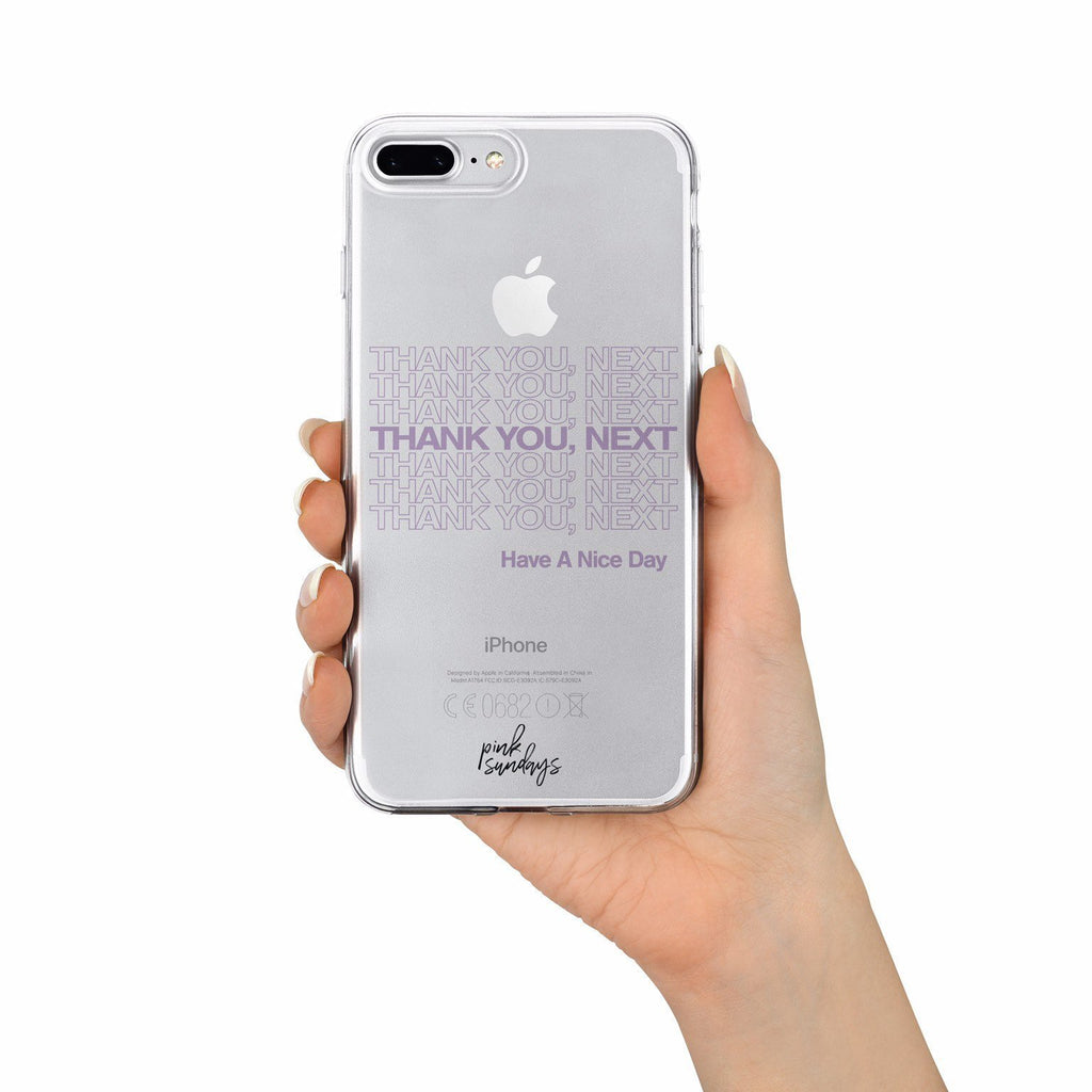 Thank You Next Iphone Case - pinksundays