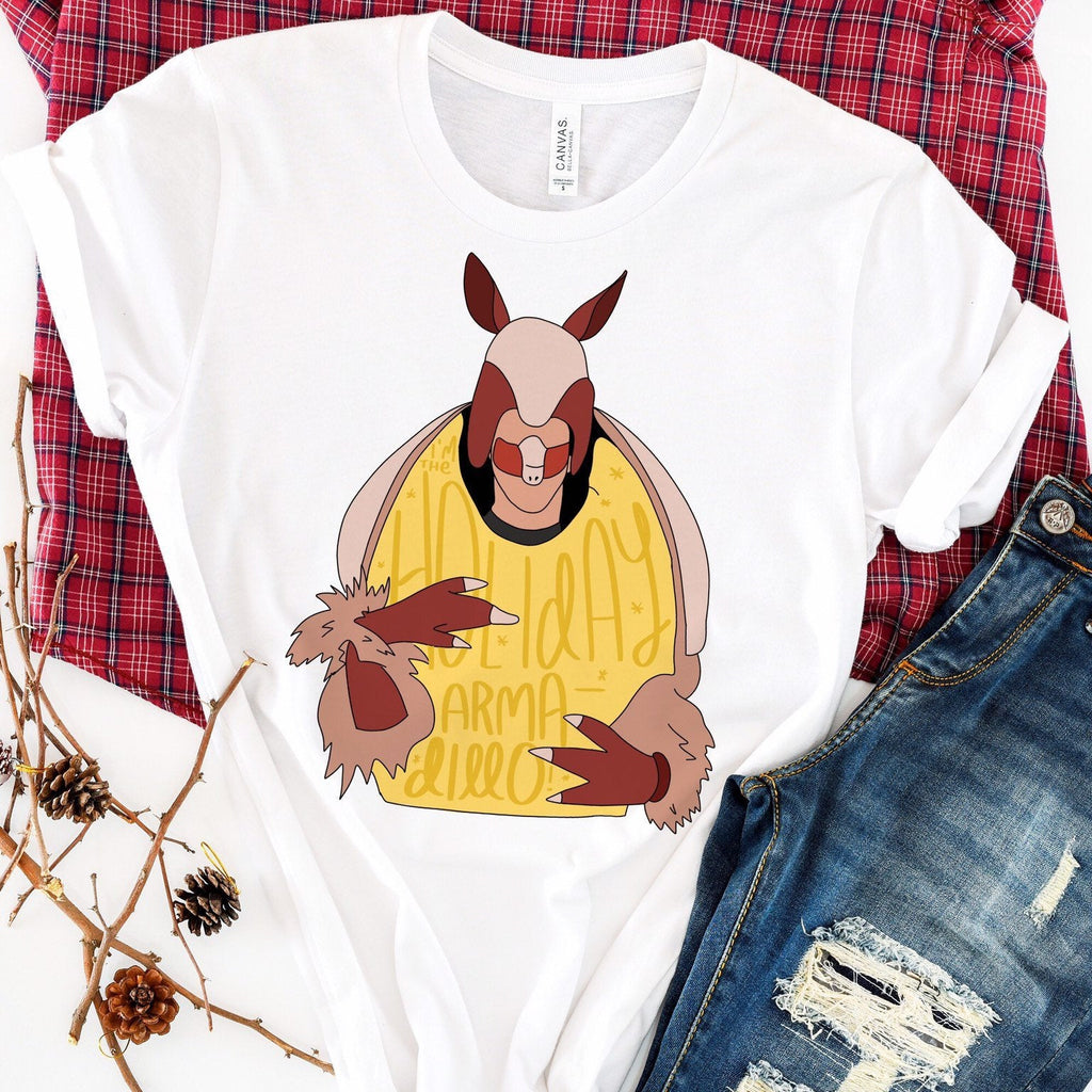 Holiday Armadillo Graphic Tee - pinksundays