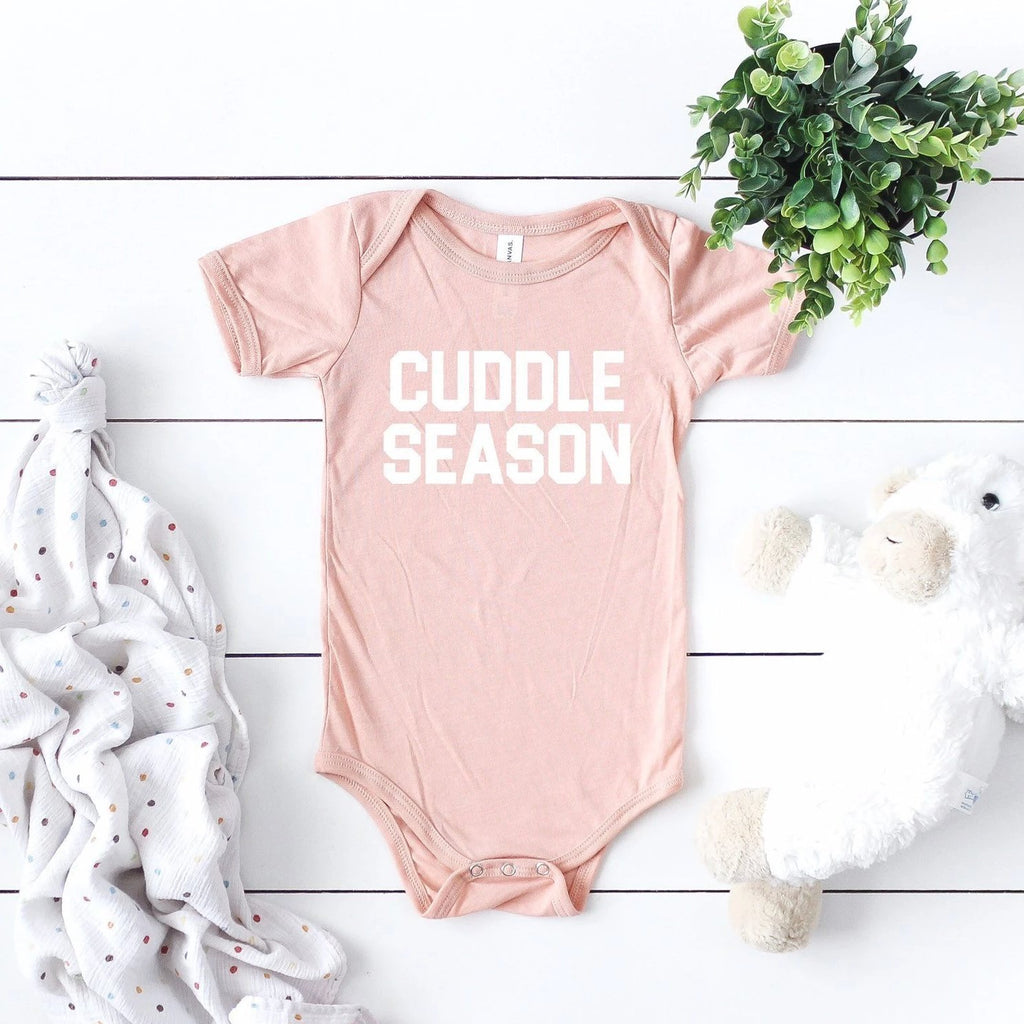 Cuddle Season Baby Bodysuit - pinksundays