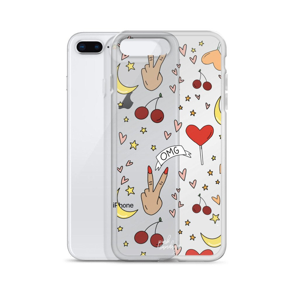 Doodles Iphone Case - pinksundays