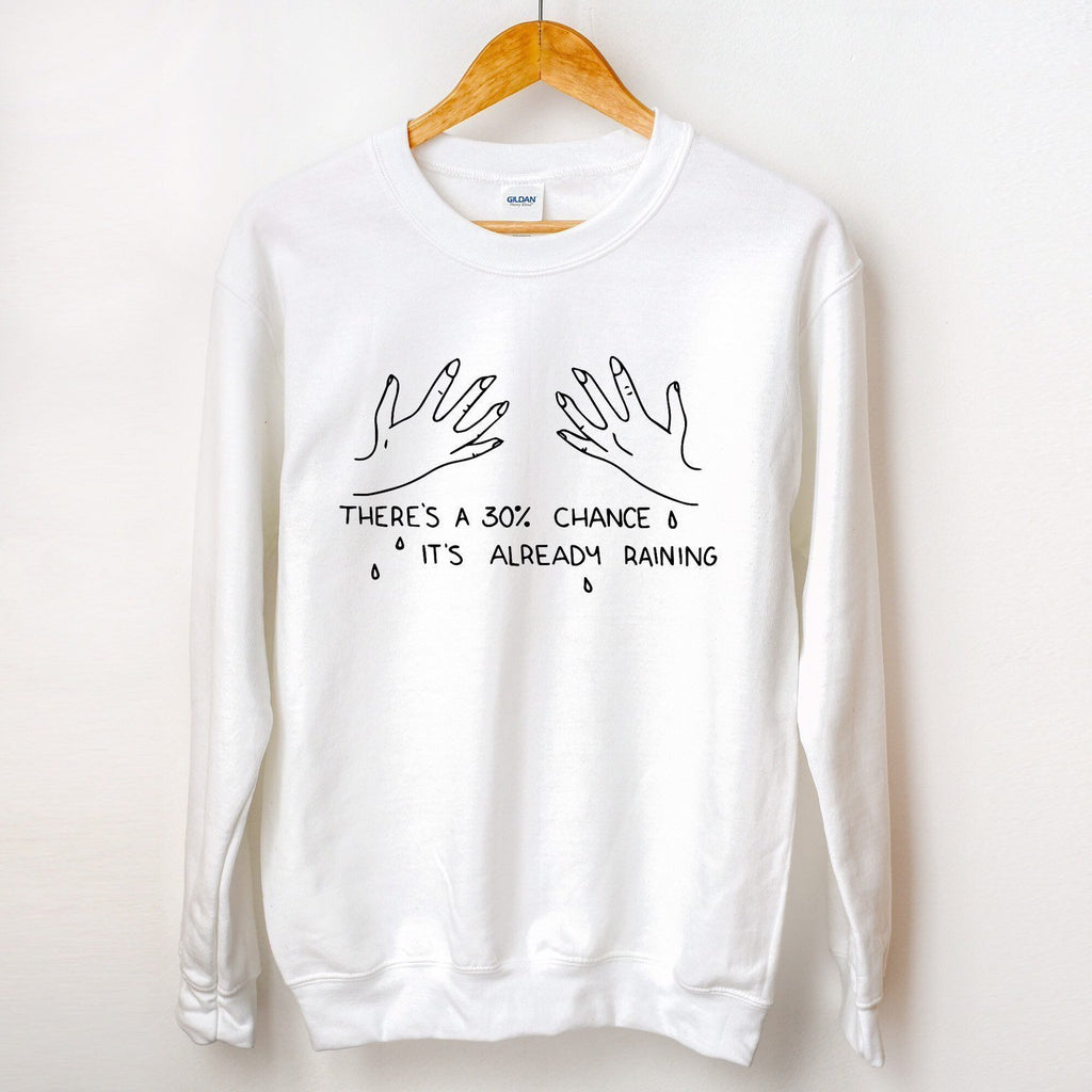 30 Percent Chance Sweater - pinksundays