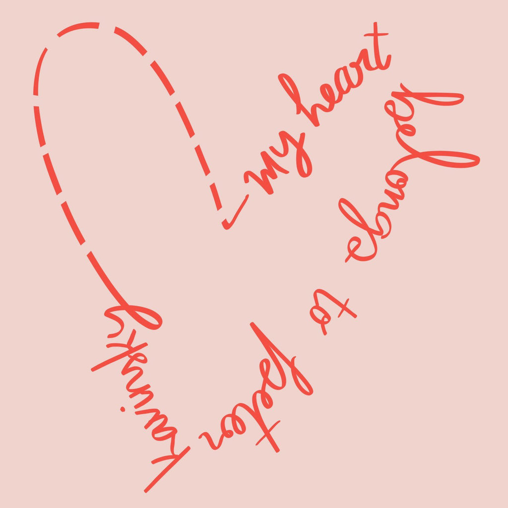 My Heart Belongs To Peter Kavinsky Graphic Tee - pinksundays