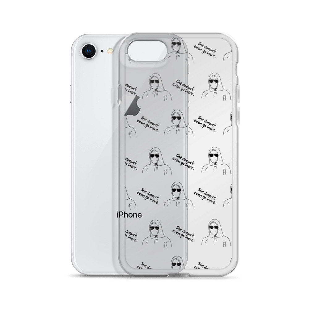 Damien Pattern Iphone Case - pinksundays