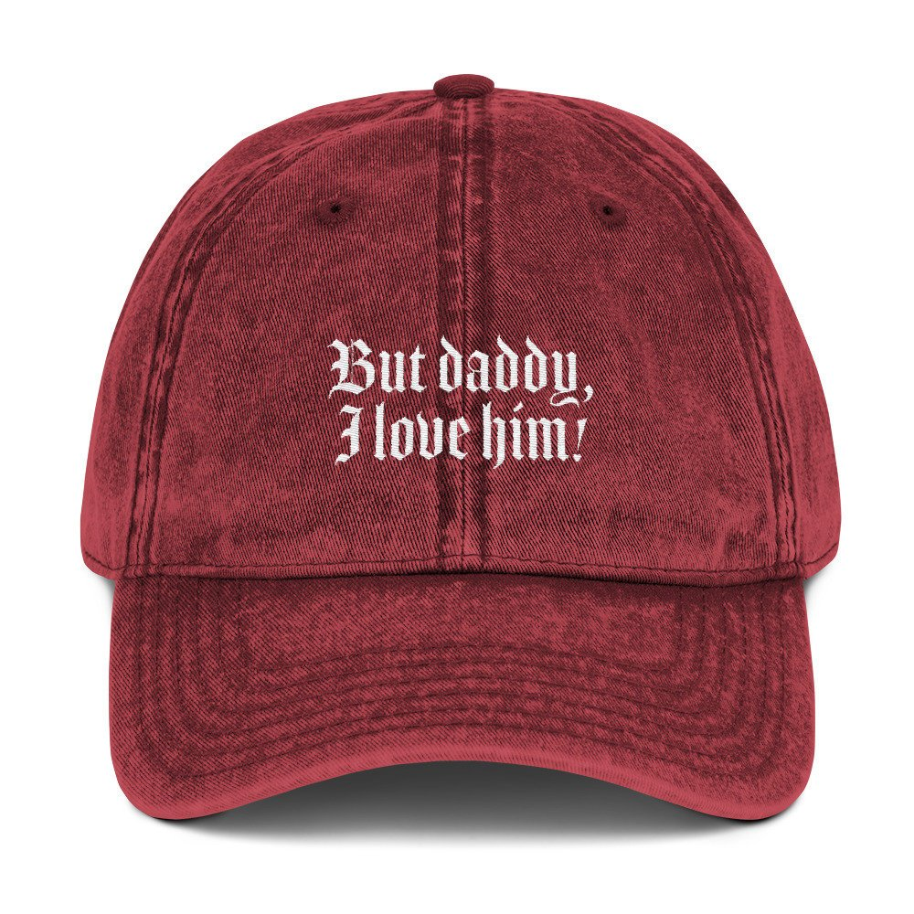 But Daddy I Love Him Dad Hat, dad cap, disney dad hat, disney princess hat, disney baseball cap, disney gifts, disney hat, ariel, princess