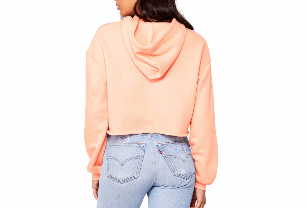But Daddy I Love Him Cropped Hoodie - pinksundays