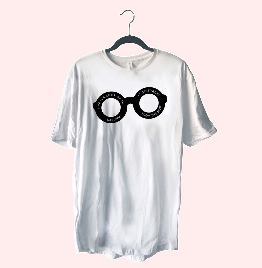 I Never Look Back Darling, It Distracts From The Now, Oversized Tshirt Dress, incredibles shirt dress, edna mode, disney oversized tshirt