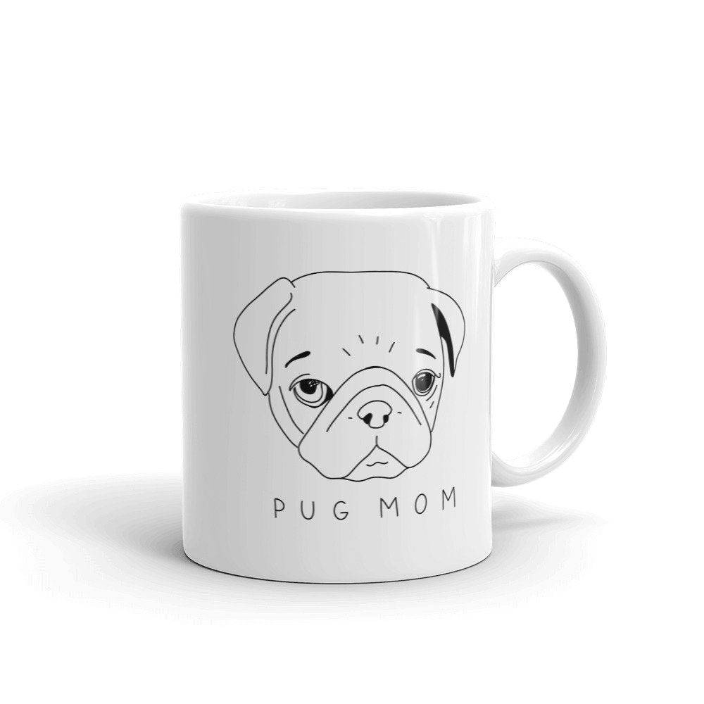 Pug Mom Mug - pinksundays