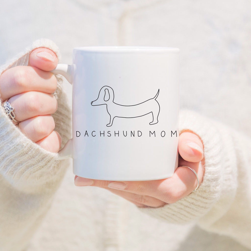 Dachshund Mom Mug - pinksundays