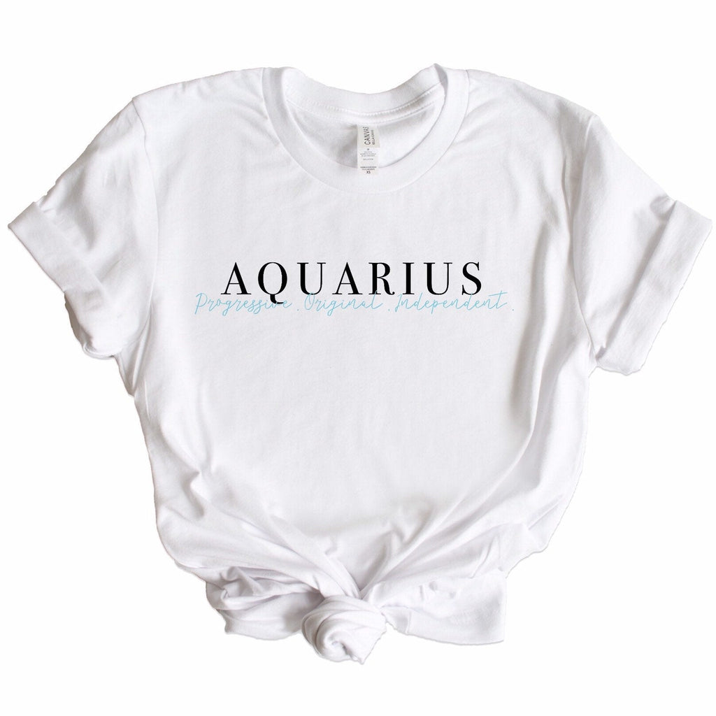 Aquarius Description Graphic Tee, aquarius tshirt, astrology gift idea, astrology tshirt, aquarius shirt, birthday gift, aquarius gift