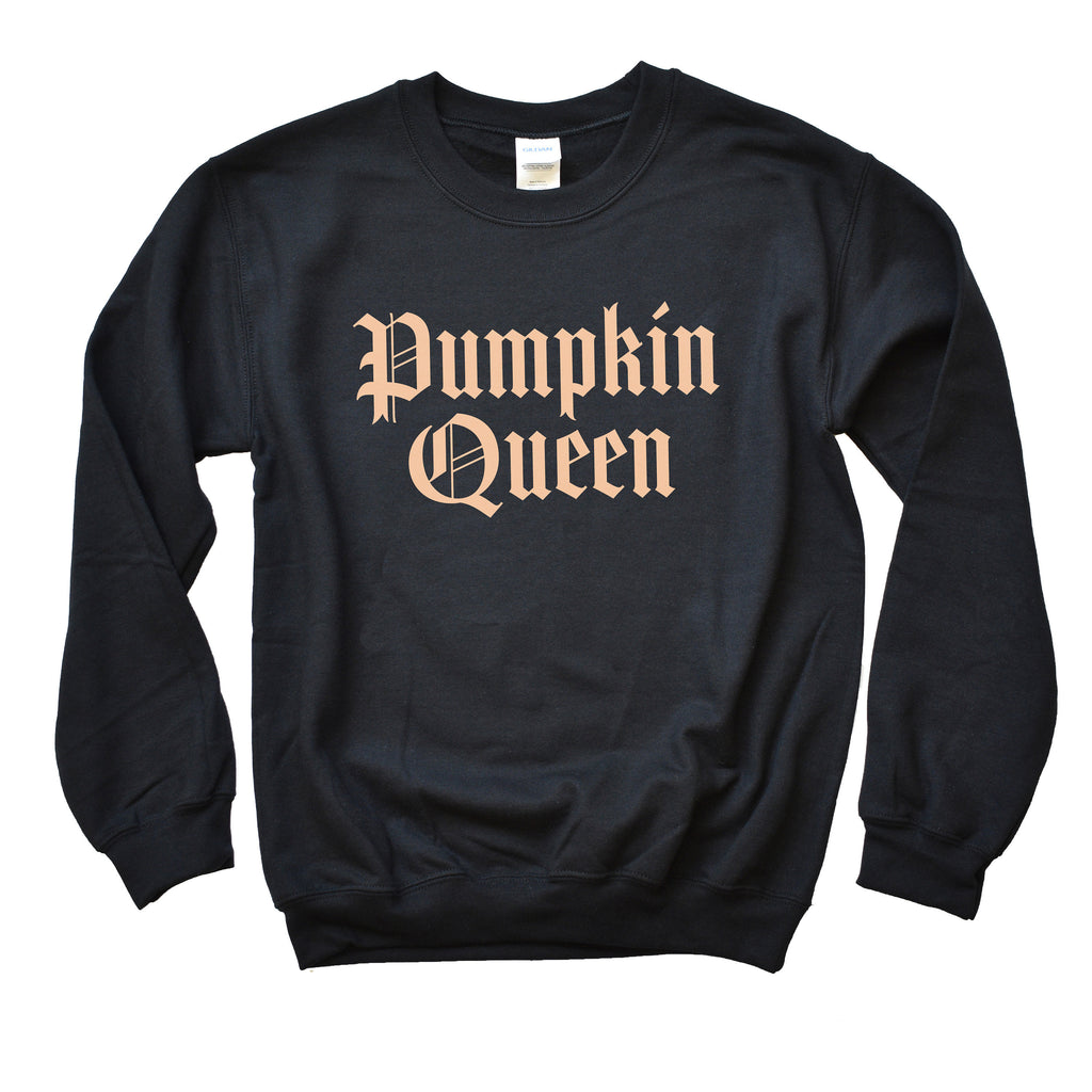 Pumpkin Queen Sweatshirt, pumpkin sweater, fall sweaters, pumpkin king, nightmare before, halloween crewnecks, halloween sweater, gift idea