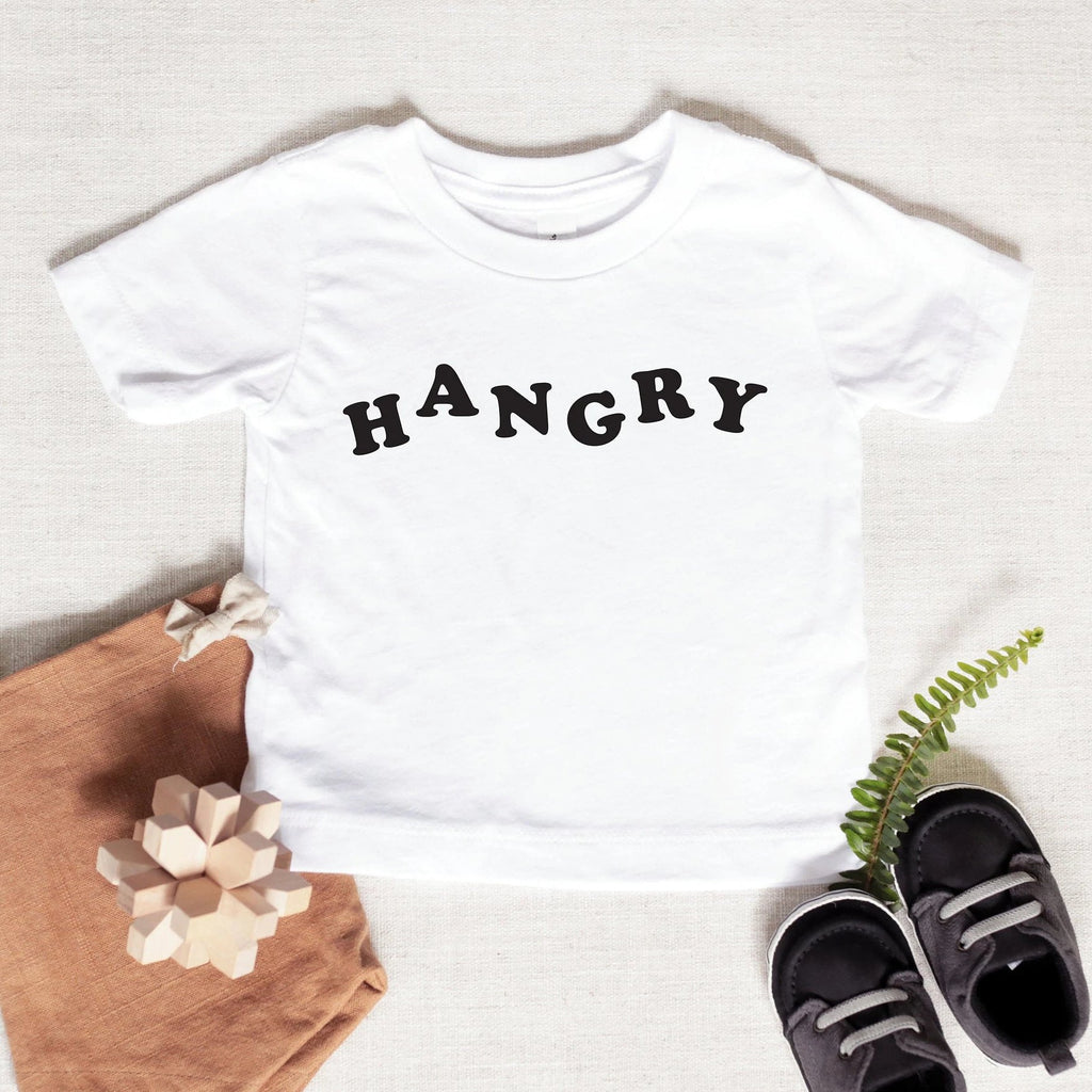 Hangry Baby Graphic Tee, funny kids tshirt, infant tshirt, kid tshirt, unisex baby apparel, baby holiday gift, hungry baby tshirt, baby gift