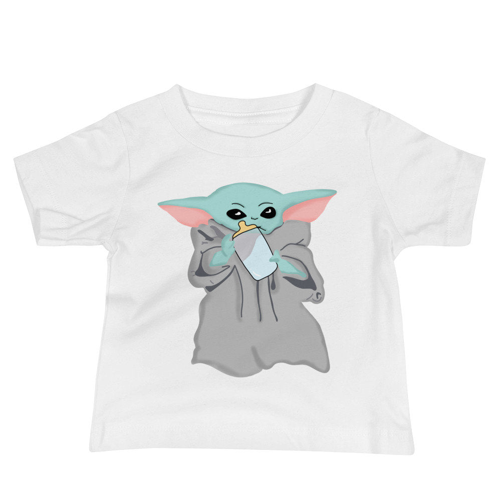 Blue Milk Baby - Baby Graphic Tee - pinksundays
