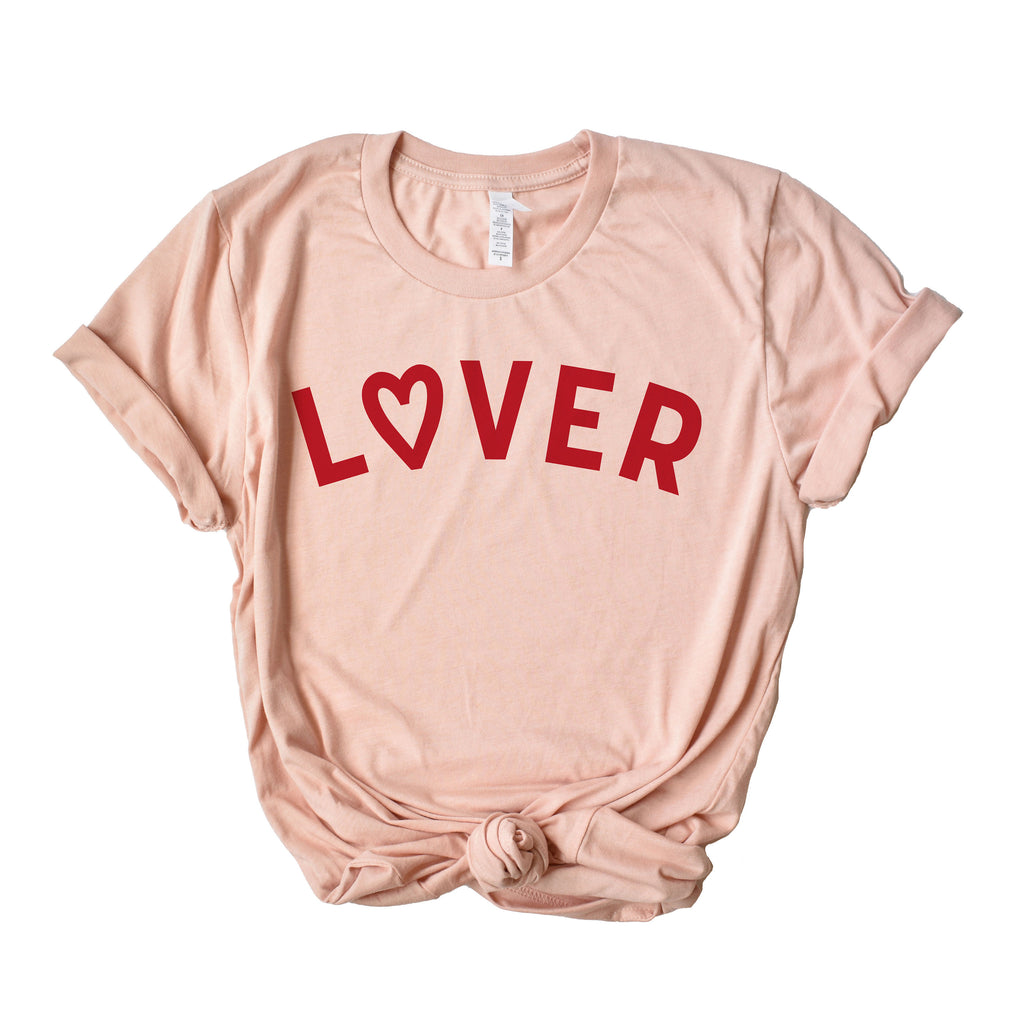 Lover Graphic Tee - pinksundays