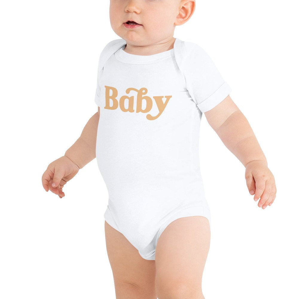 Baby Graphic Baby Bodysuit - pinksundays