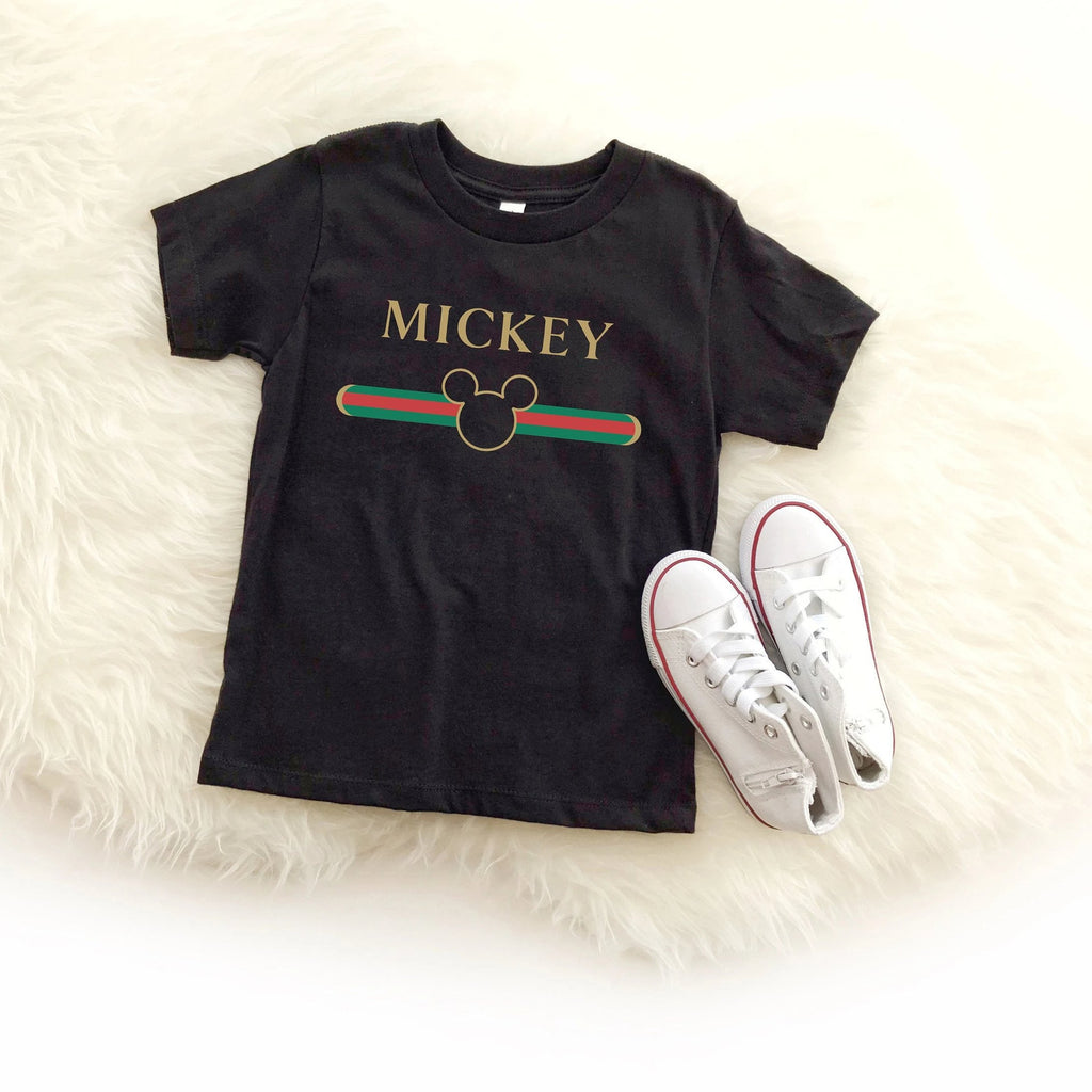 Designer Mouse Baby Graphic Tee - pinksundays