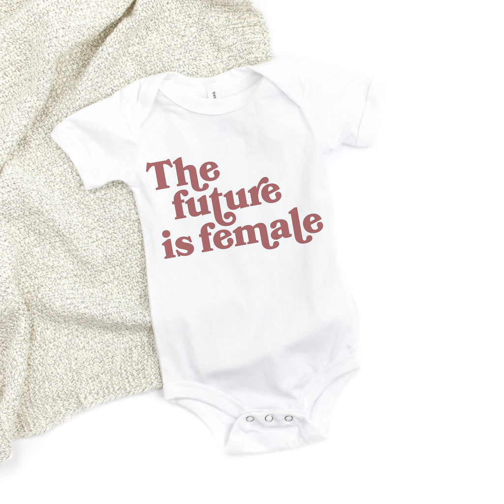The Future Is Female Baby Bodysuit - pinksundays