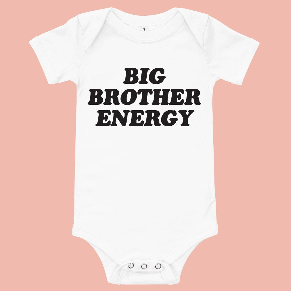 Big Brother Energy Baby Bodysuit - pinksundays