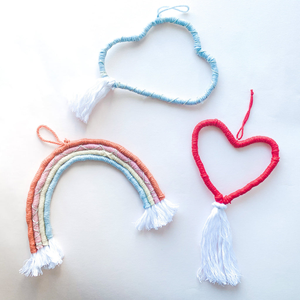Cloud Macrame Wall Hanging - pinksundays