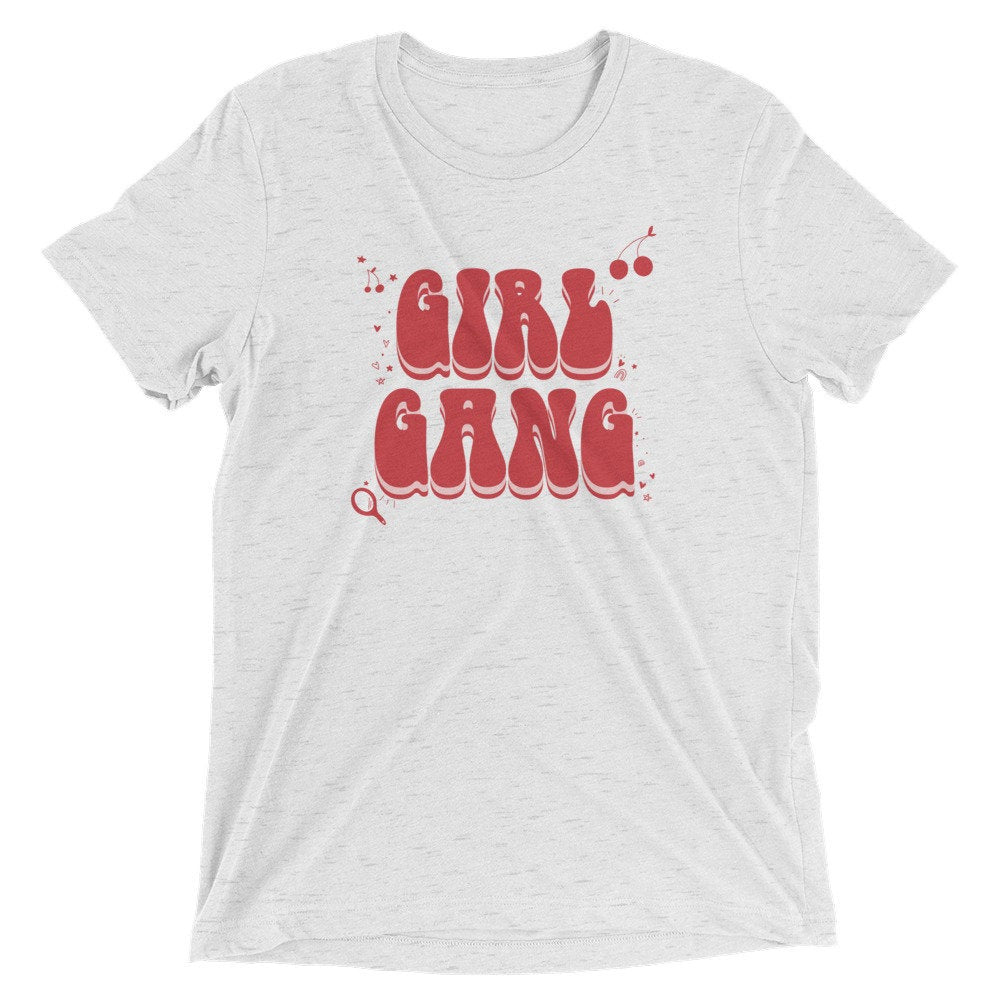 Girl Gang Graphic Tee, galentines tee, girl gang, mommy and me tshirts, typography, girl tshirt, valentines, self love, gift idea, baby tee
