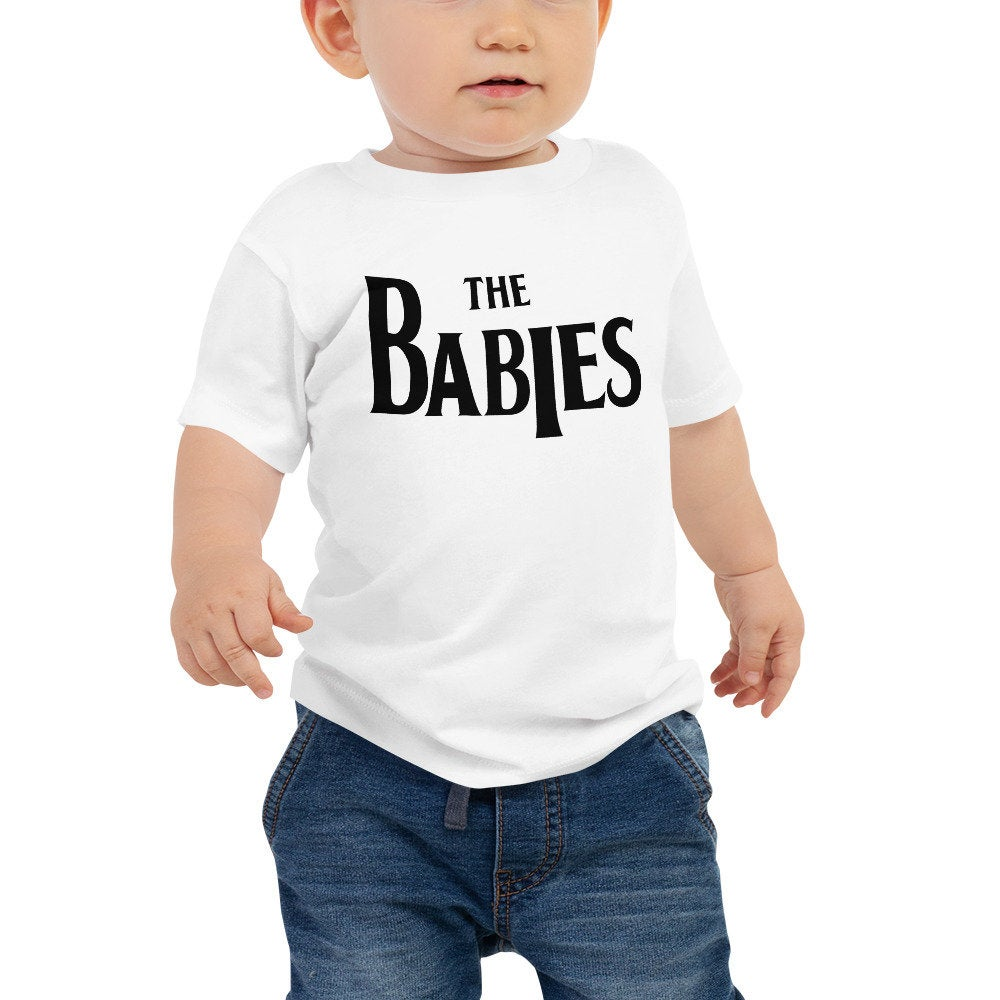 The Babies Baby Graphic Tee, kids tshirt, kids graphic tee, vintage band tee parody, baby beatles parody tee, baby gift, newborn gift idea