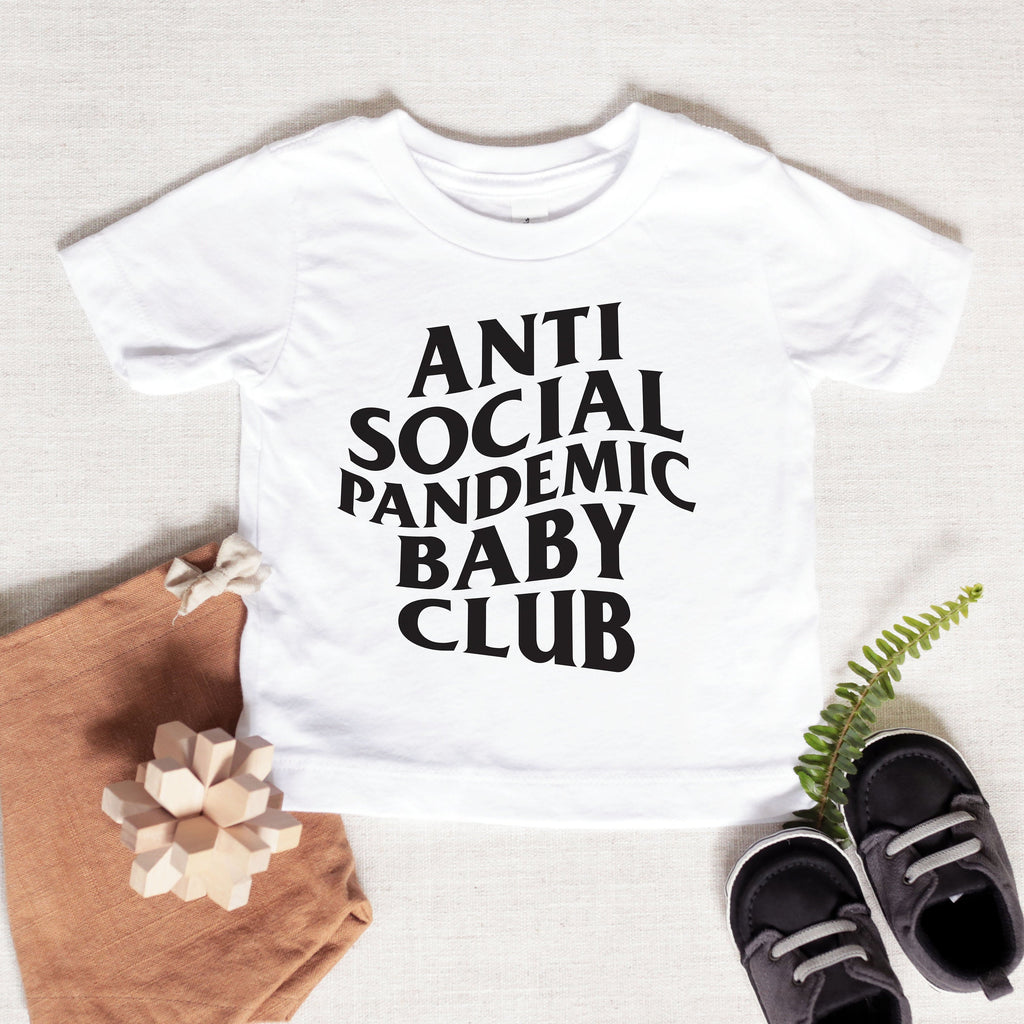 Anti Social Pandemic Baby Club Baby Graphic Tee