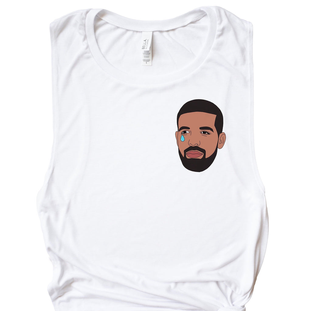 Emotional Drake Muscle Tee - pinksundays