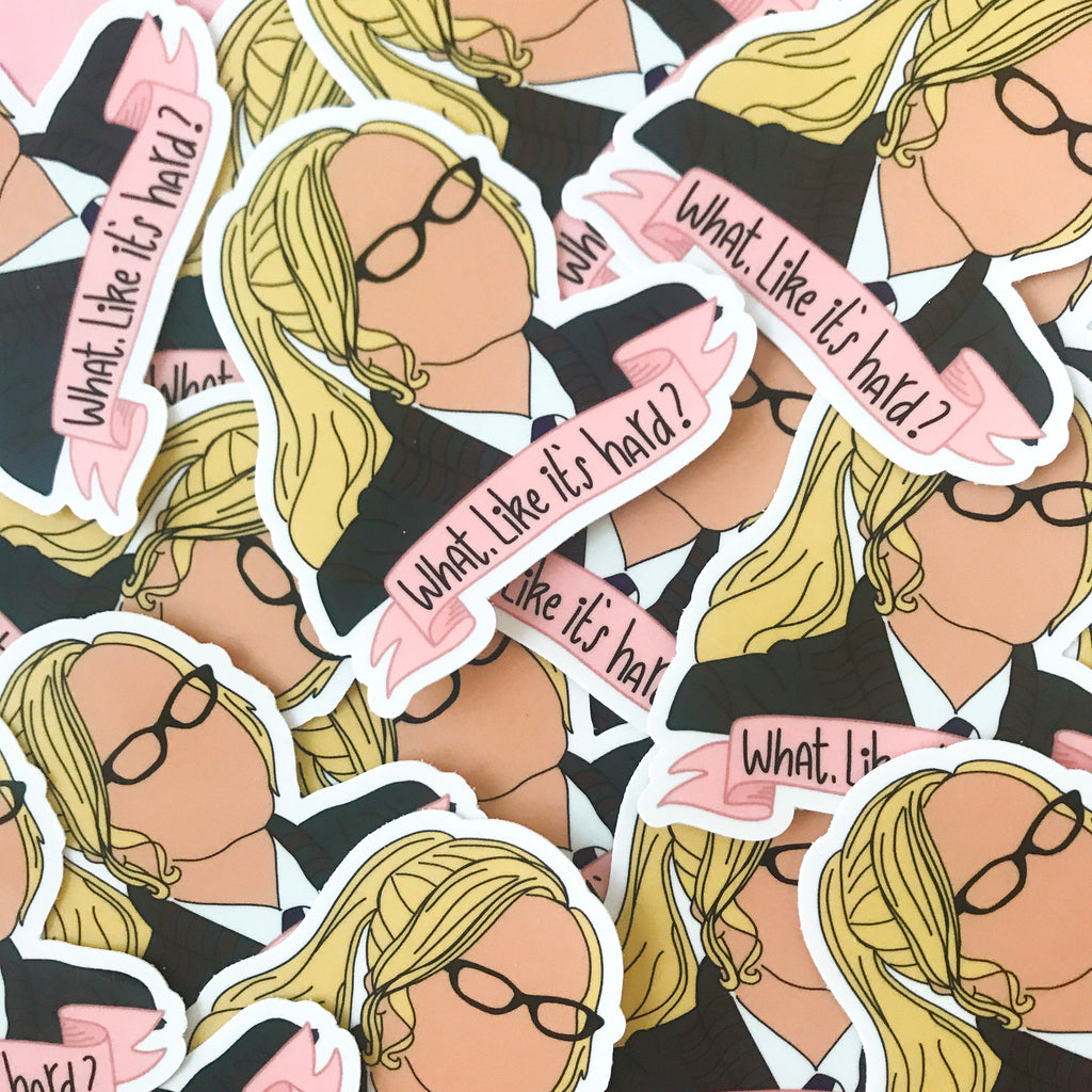 Elle Woods Sticker - pinksundays