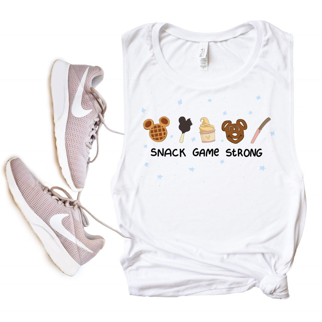Snack Game Strong Muscle Tee - pinksundays