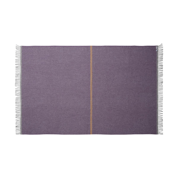 Silkeborg Uldspinderi ApS Alrø 140x240 cm Throw 0833 Grey Heather