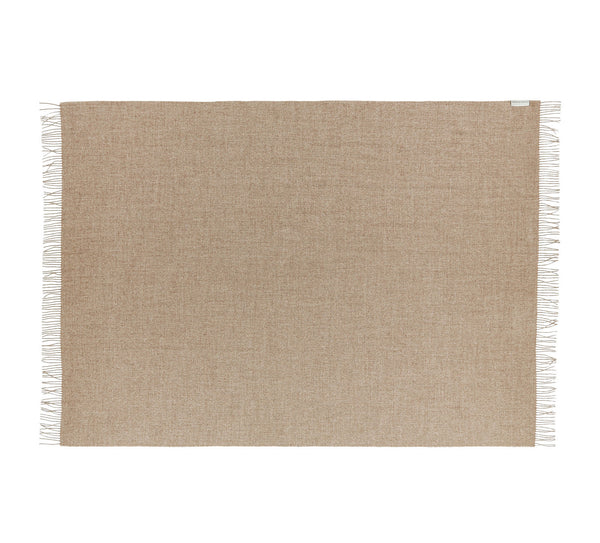 Silkeborg Uldspinderi ApS Arequipa Plaid 130x200 cm Throw 0284 Walnut Brown