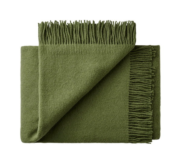 Silkeborg Uldspinderi ApS Athen Plaid 130x200 cm Throw 3823 Cypress Green