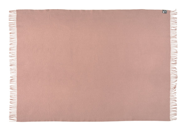Silkeborg Uldspinderi ApS Athen Plaid 130x200 cm Throw 4614 Fawn Rose