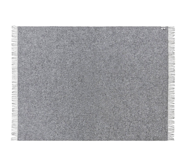 Silkeborg Uldspinderi ApS Athen Plaid 130x200 cm Throw 0115 Medium Grey