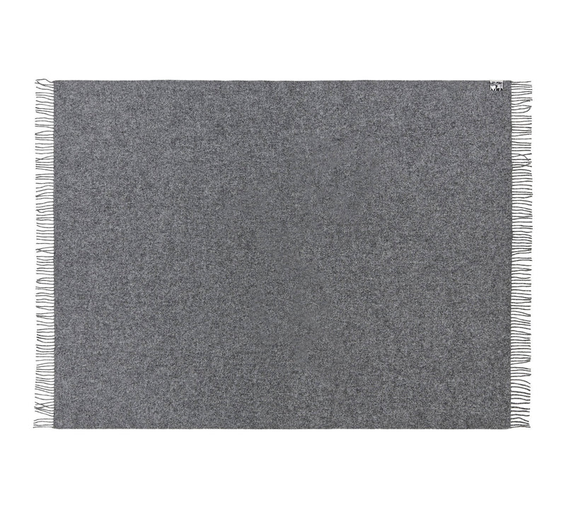 Silkeborg Uldspinderi ApS Athen Plaid 130x200 cm Throw 0116 Dark Nordic Grey