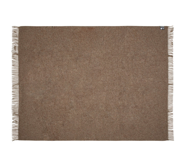 Silkeborg Uldspinderi ApS Athen Plaid 130x200 cm Throw 0284 Oak Brown