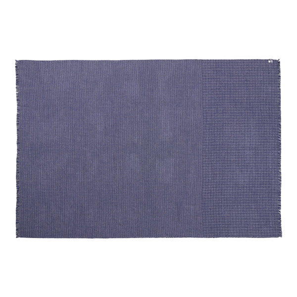 Silkeborg Uldspinderi ApS Cumulus Plaid 130x200 cm Throw 1167 Blue White