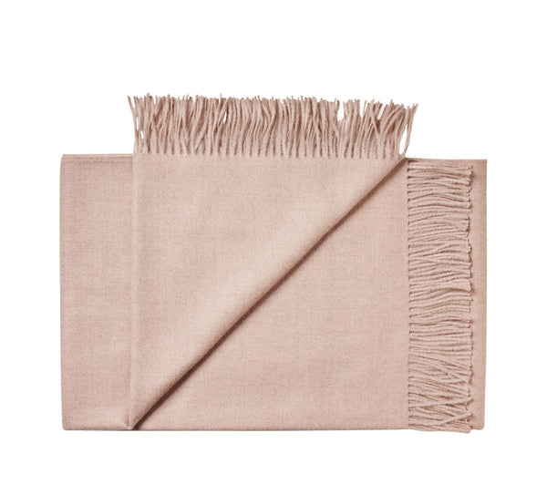 Silkeborg Uldspinderi ApS Cusco 130x200 cm Throw 1927 Dusty Rose