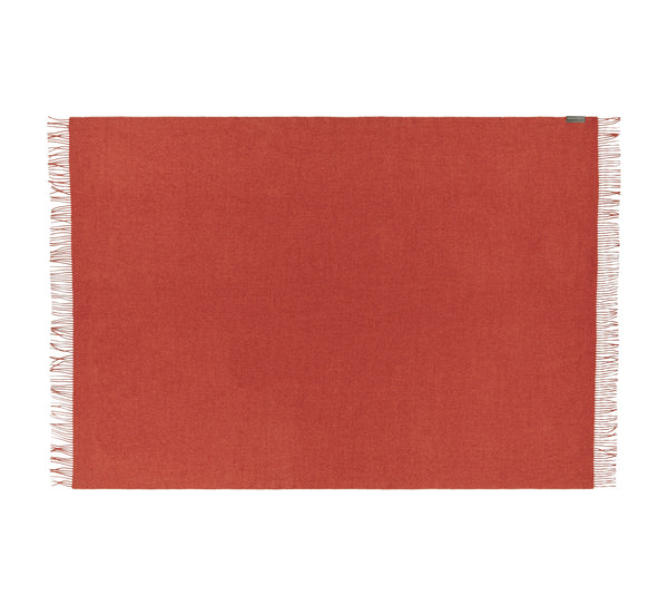 Silkeborg Uldspinderi ApS Cusco 130x200 cm Throw Pumpkin Orange 0707