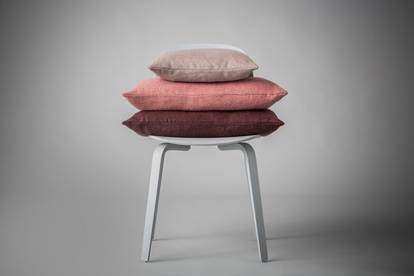 Silkeborg Uldspinderi ApS Cusco Pude 60x60 cm Cushion 1927 Dusty Rose