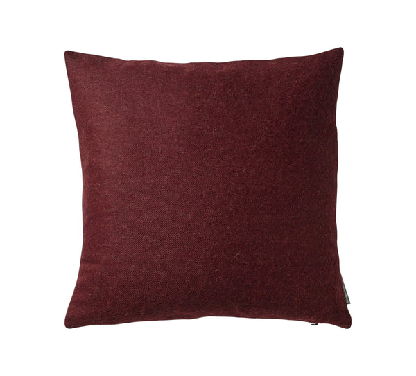 Silkeborg Uldspinderi ApS Cusco 60x60 cm Cushion Old Bordeaux 0640