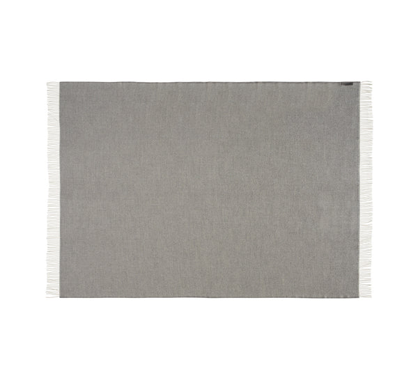Silkeborg Uldspinderi ApS La Paz 130x200 cm Throw 0401 Light Grey